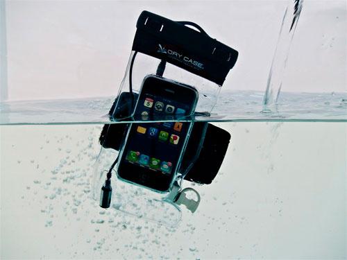 DryCASE - водонепроницаемый прозрачный чехол для гаджетов (6 фото + 3...