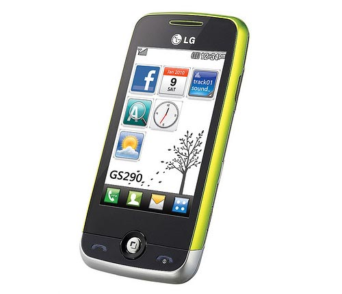LG Cookie Fresh GS290 - новый тачфон