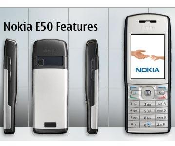 Nokia E50 - характеристики, цены, описание, отзывы / Nokia ...